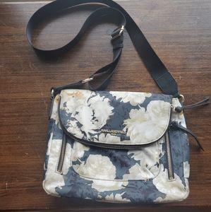 Karl Lagerfeld floral peony purse